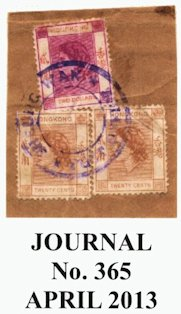 Hong Kong Perfin Stamps - Rod Sell